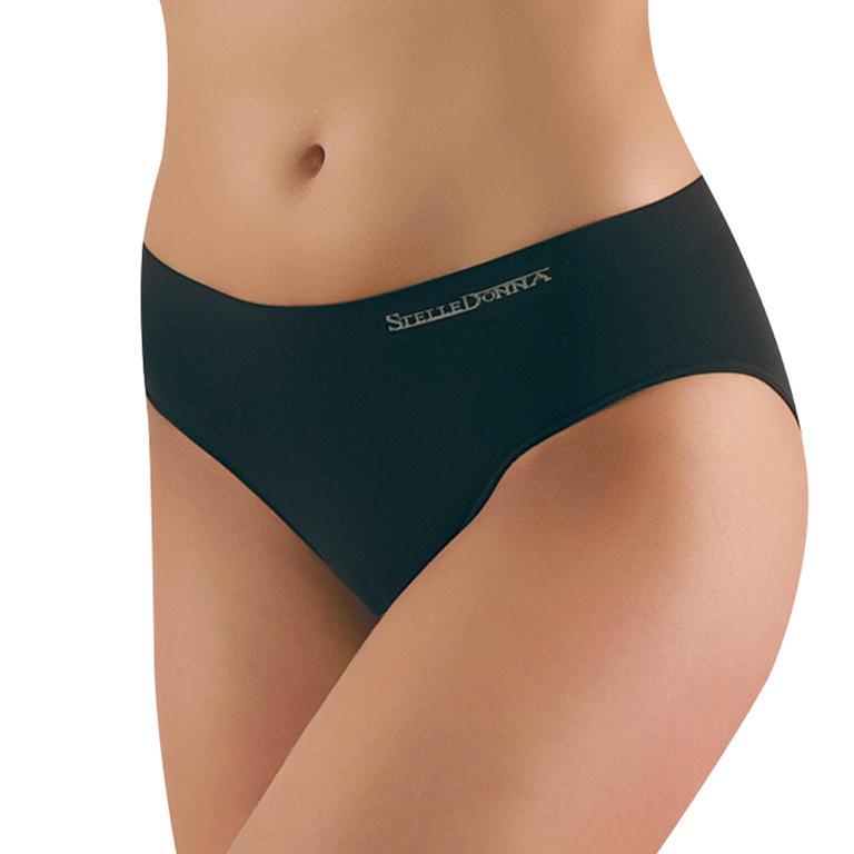 Bezešvé kalhotky Sandra 2ks černá L/XL