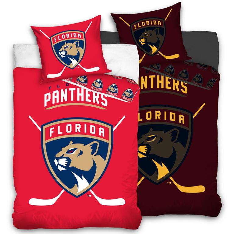 Tip Trade Bavlněné povlečení NHL Florida Panthers svítící 140 x 200 cm, 70 x 90 cm