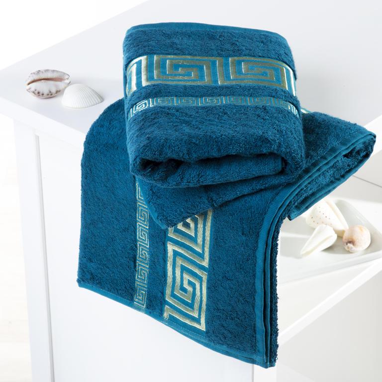 Bambusové ručníky Rome petrolejové  - 1