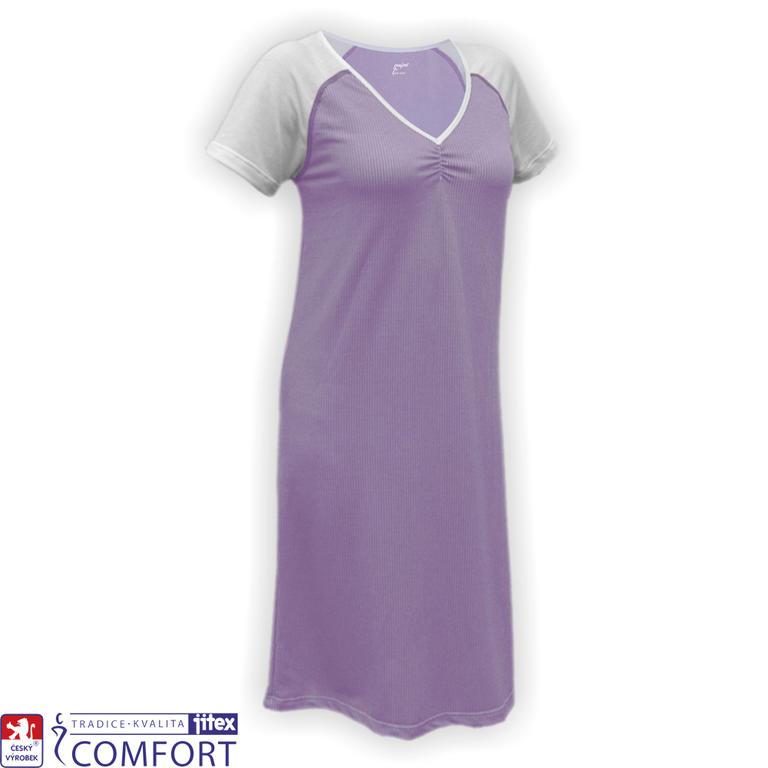 Dámská funkční noční košile Juska fialová vel. XL - decoDoma 0345149be7