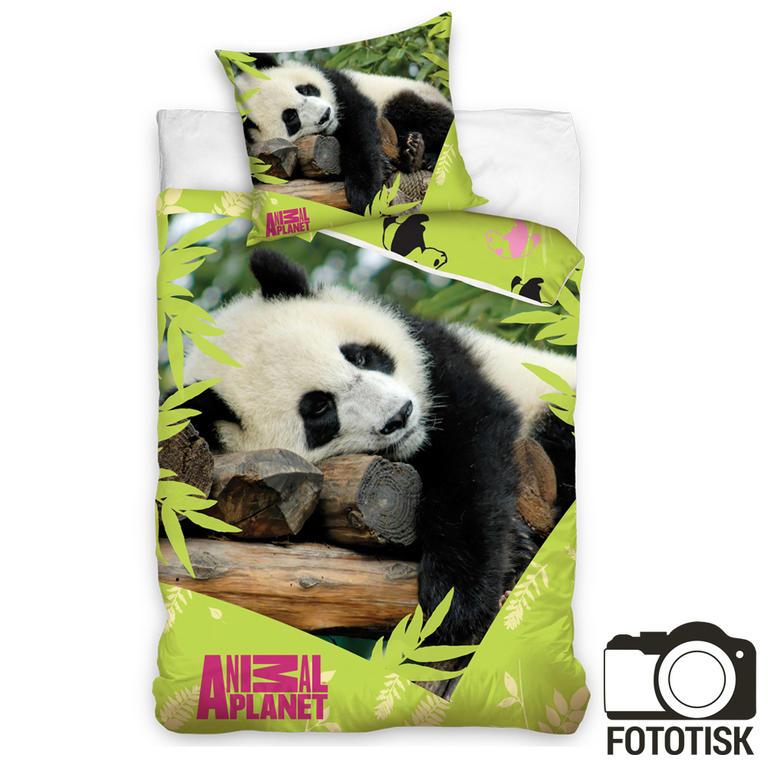 Dětské ložní povlečení Animal planet panda 140 x 200 cm, 70 x 90 cm