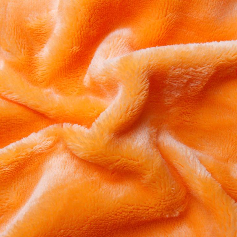 Napínací prostěradlo SLEEPWELL mikroplyš oranžové