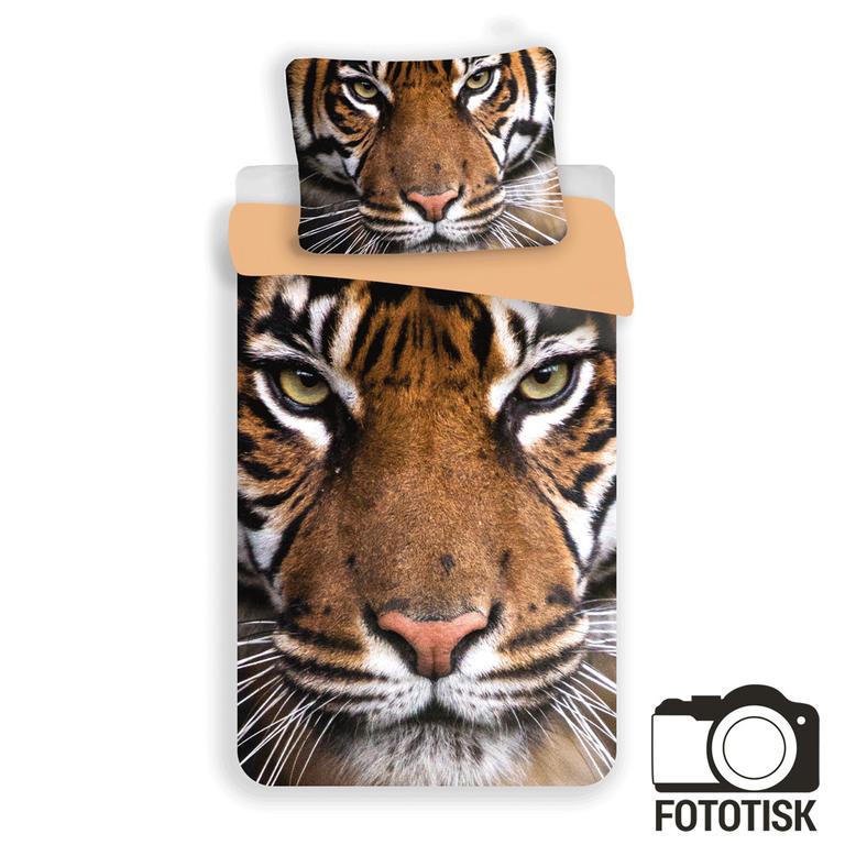 Jerry Fabrics bavlna povlečení Tygr 2017 140x200 70x90