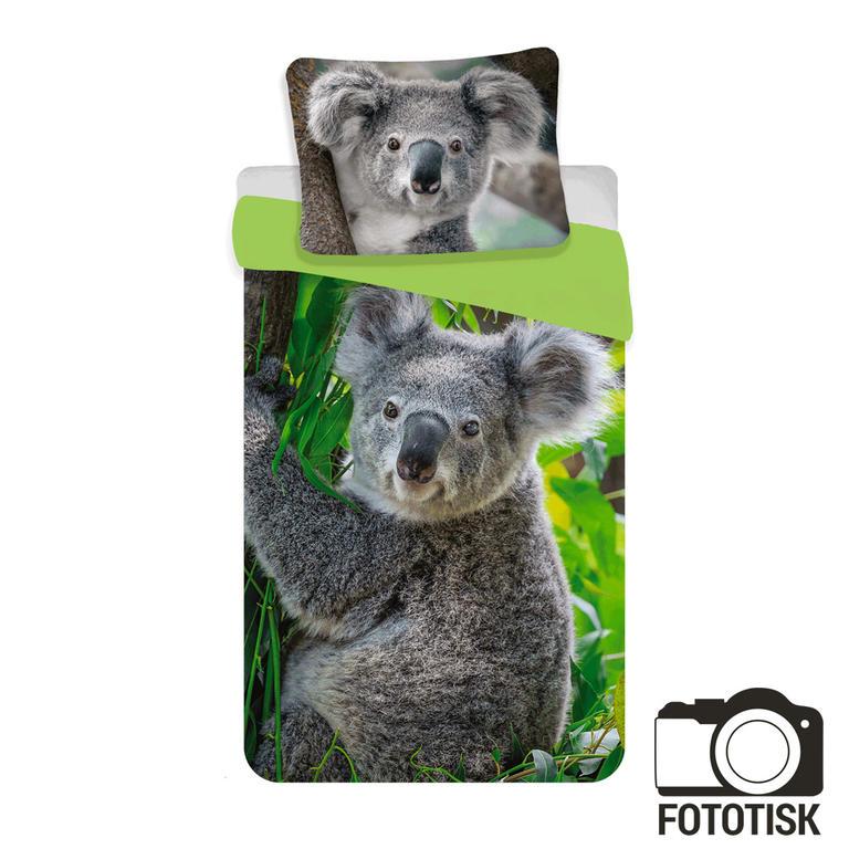 Jerry Fabrics Povlečení fototisk Koala 140x200 70x90