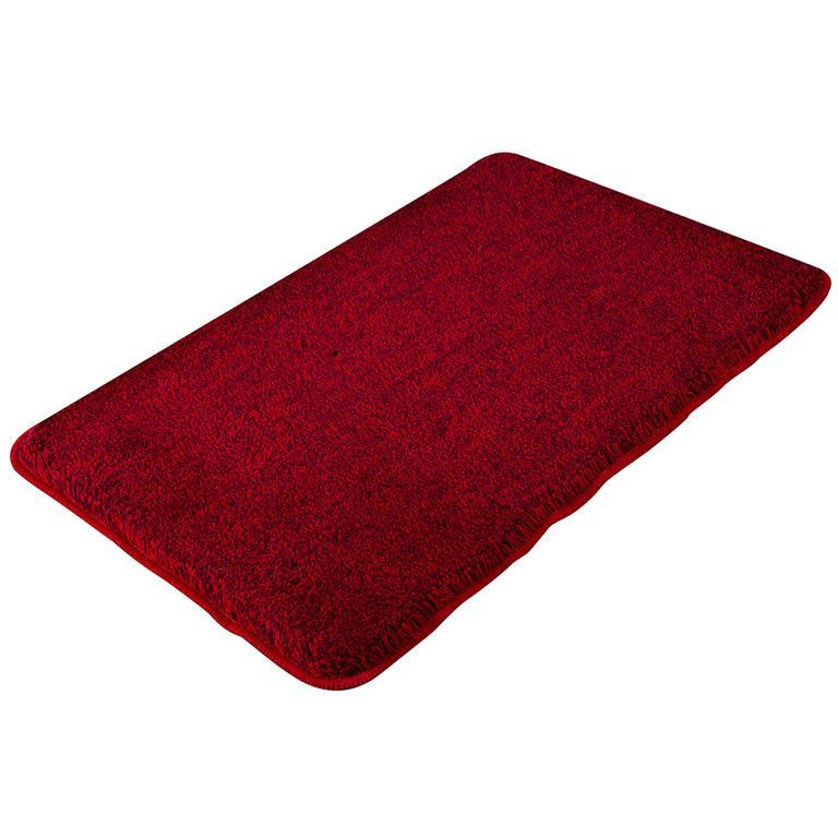 Grund Koupelnová předložka EXCLUSIVE melír rubínová 50 x 60 cm