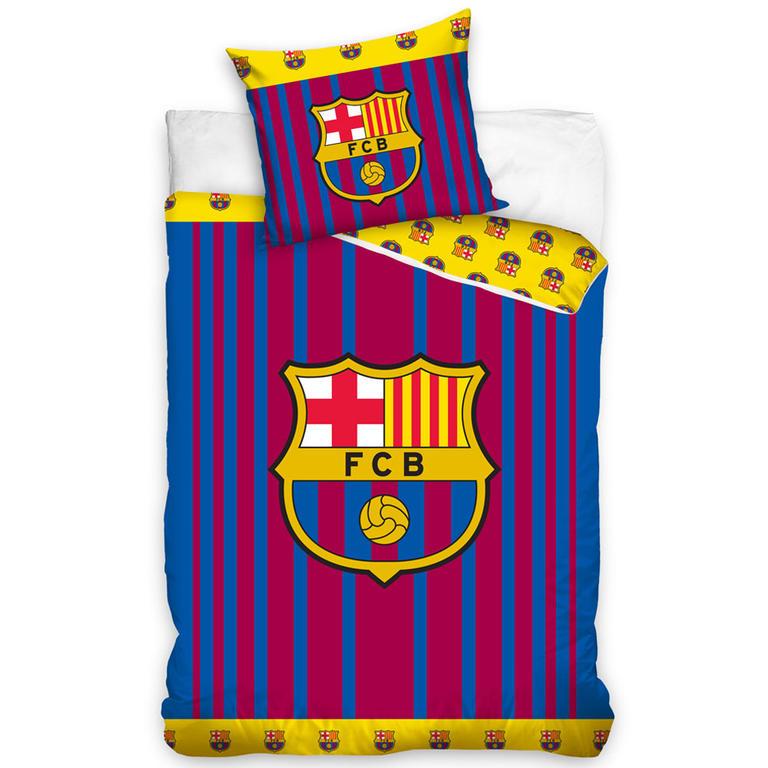 Bavlněné povlečení FC Barcelona 140 x 200 cm, 70 x 90 cm