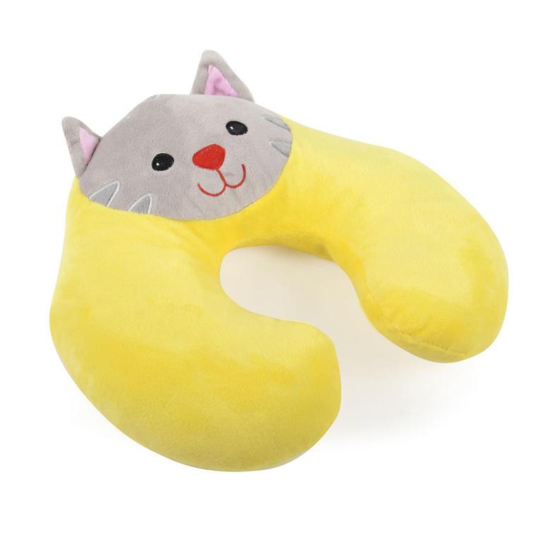 Novega Dětský záhlavník KIDDER Kočička 30 x 32 cm