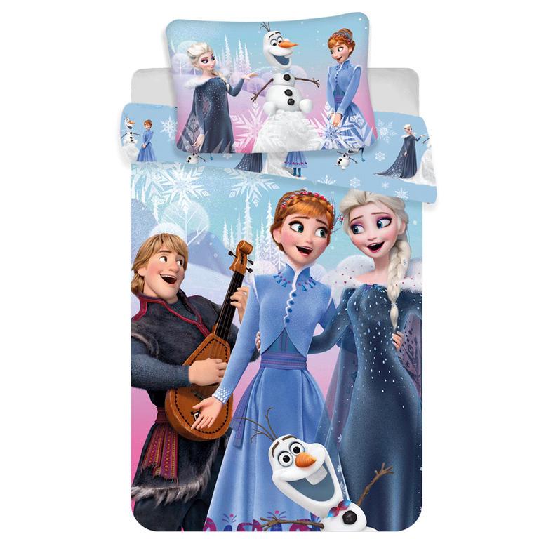 Jerry Fabrics Povlečení Frozen winter 140x200 70x90