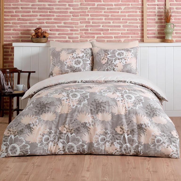 TipTrade bavlna Povlečení Mirage Béžové 140x220 70x90