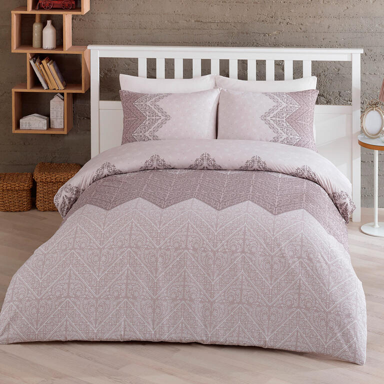 TipTrade bavlna Povlečení Monte Béžové 200x220 2x70x90