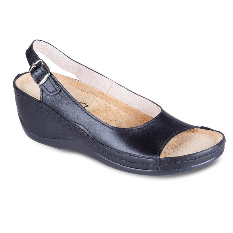 Dámské zdravotní sandály černé vel.37