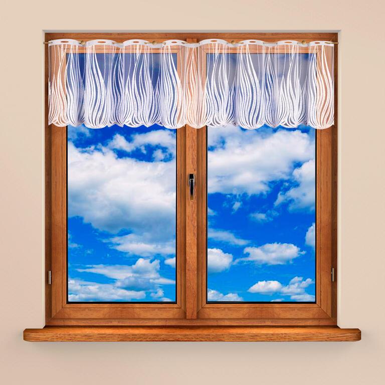 Vitrážková záclona KAROLÍNA 40 x 300 cm