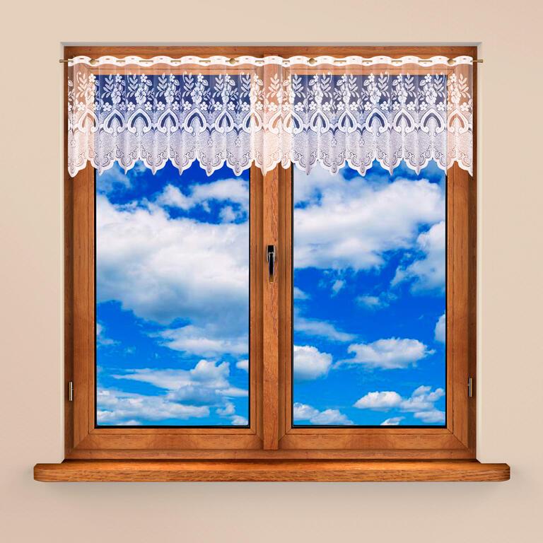 Vitrážková záclona AMELIE 40 x 300 cm