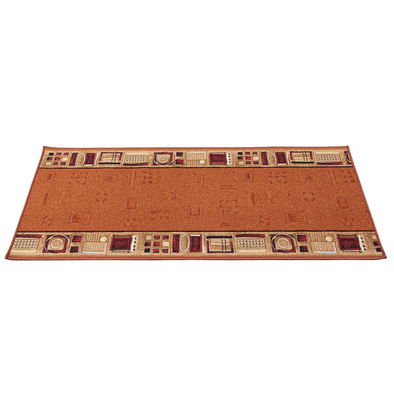 Kusový koberec JENA cihlová 67 x 250 cm