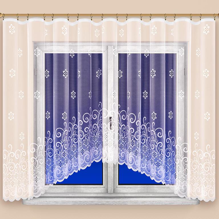 Hotová žakárová záclona MANUELA 350 x 160 cm