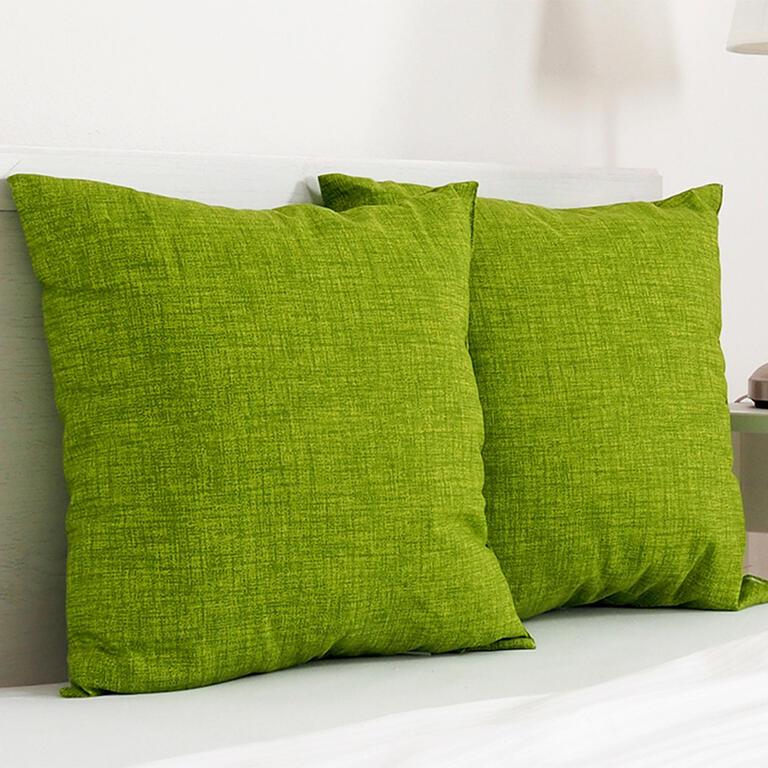 Dekorační polštářek BESSY 45 x 45 cm zelená sada 2 ks