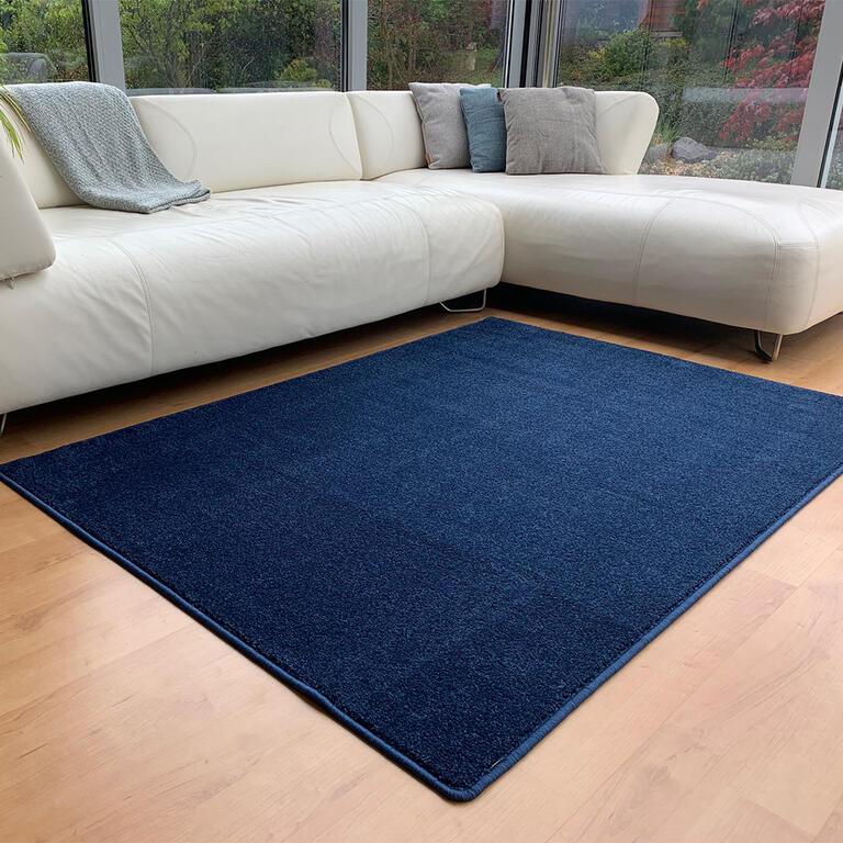Kusový koberec ETON lux modrý 140 x 200 cm