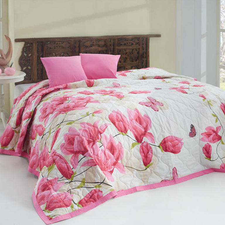 Přehoz na postel Alize Pink růžová