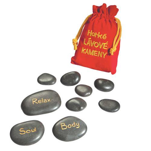 Masážní lávové kameny  - 1
