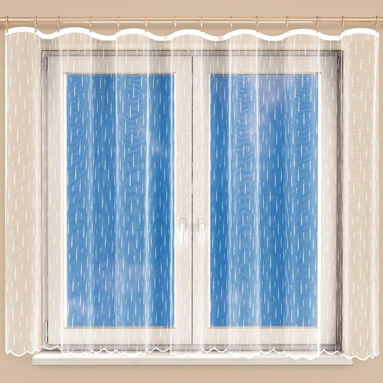 Hotová žakárová záclona MOLLY 350 x 160 cm