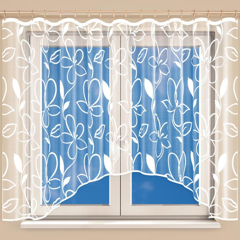 Hotová žakárová záclona TINA 350 x 160 cm