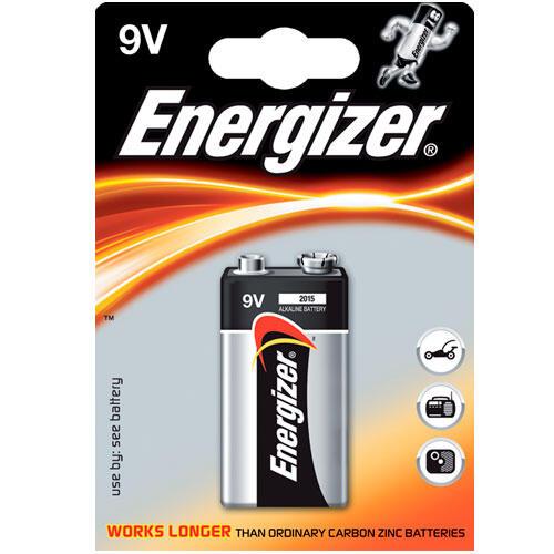 Alkalická baterie Energizer 9V  - 2