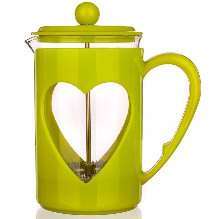 Skleněná konvice na kávu 800 ml Darby, BANQUET zelená - 2