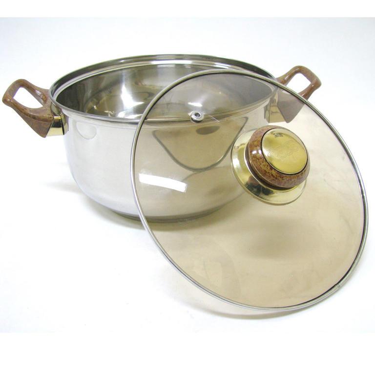 Nerezové nádobí 6 dílů  - 2