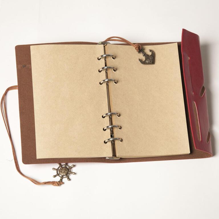 Cestovatelský deník hnědý - 2