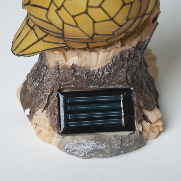 Solární sova mozaika  - 2