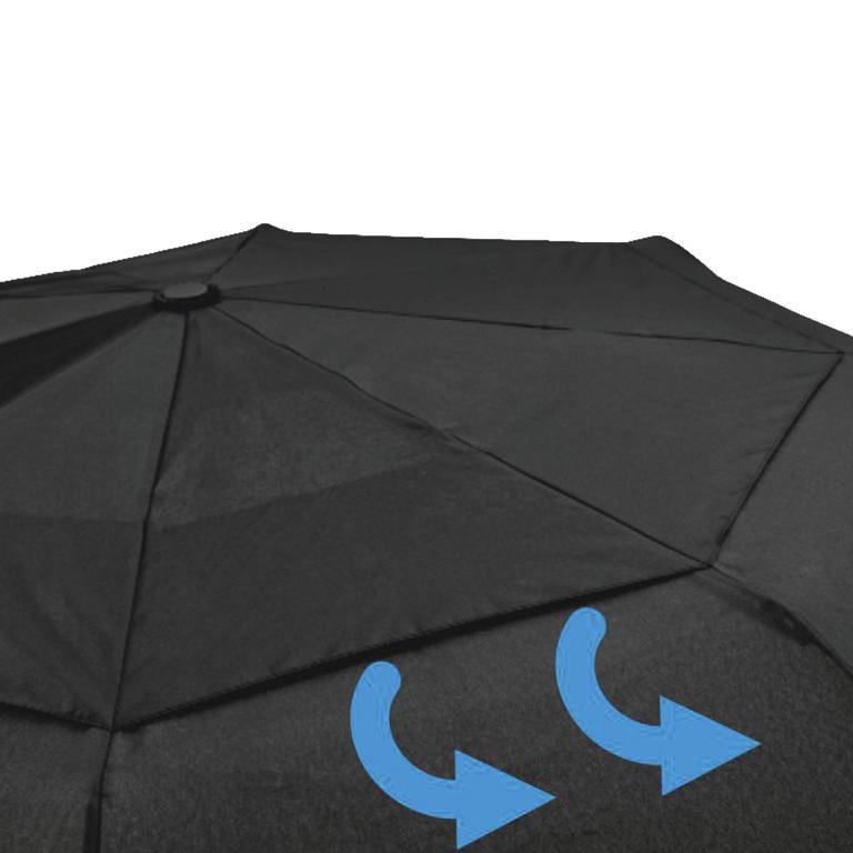 Skládací deštník odolný proti větru  - 2