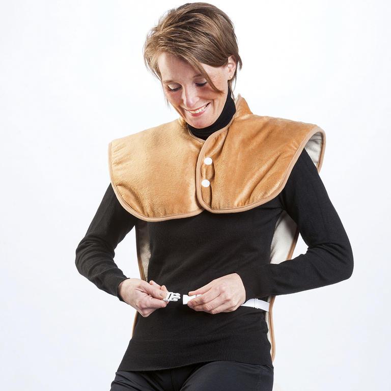 Hřejivá vesta na záda a ramena  - 2