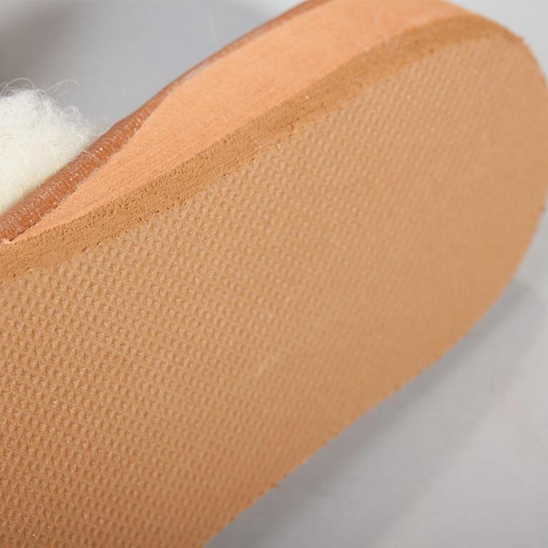 Dámské domácí rehabilitační pantofle s ovčí vlnou vel. 38 - 2