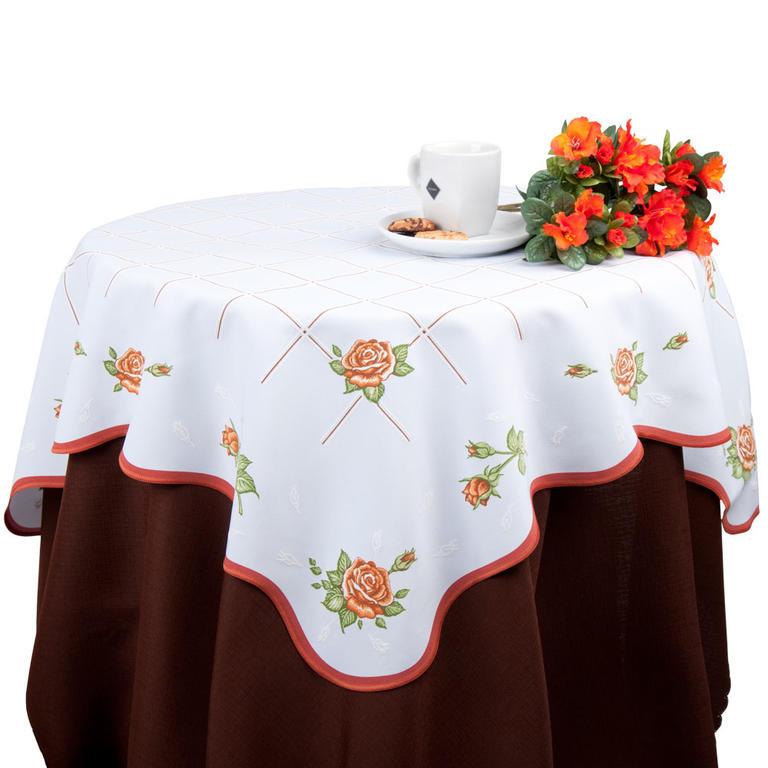 Ubrus s růžemi 120 x 140 cm - 2
