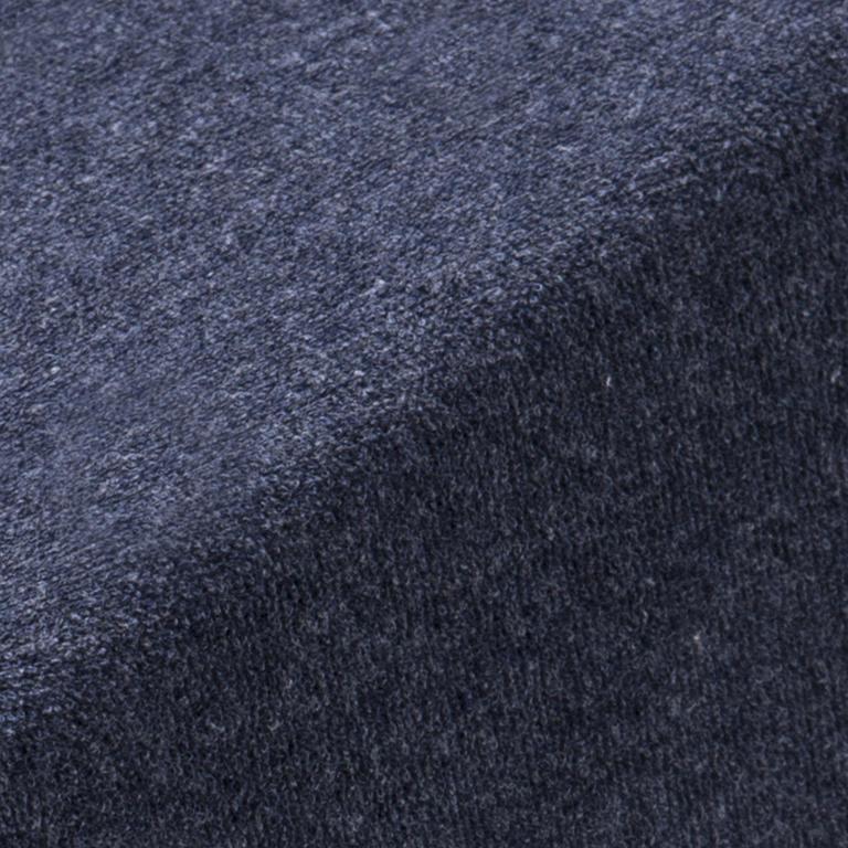 Napínací froté prostěradlo MELÉ tmavě modrá  - 2