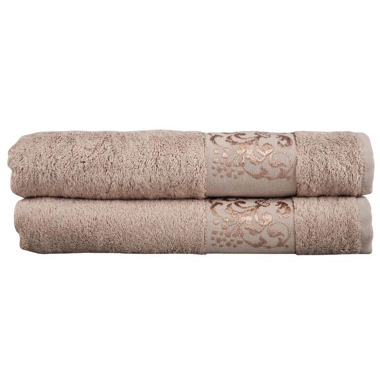 Bambusové ručníky cappucino sada 4 kusů - 2