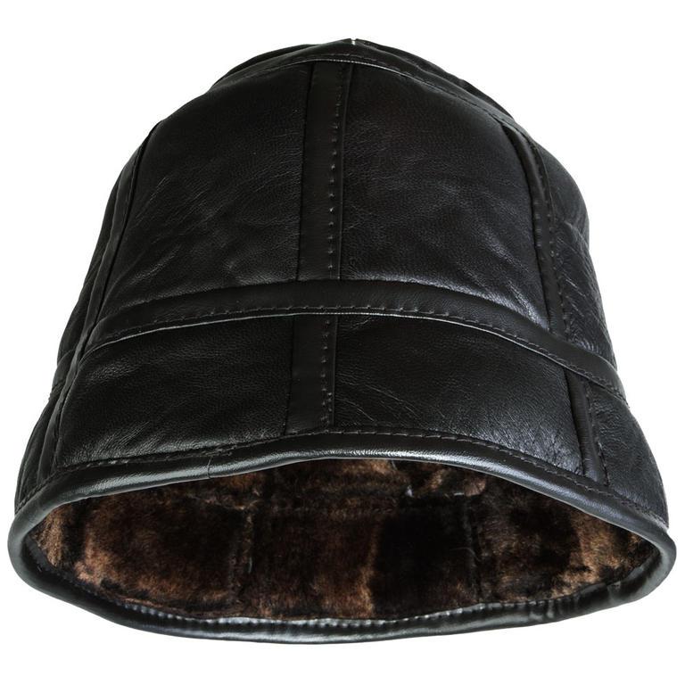 Pánský klobouk z jehněčí kůže  - 2