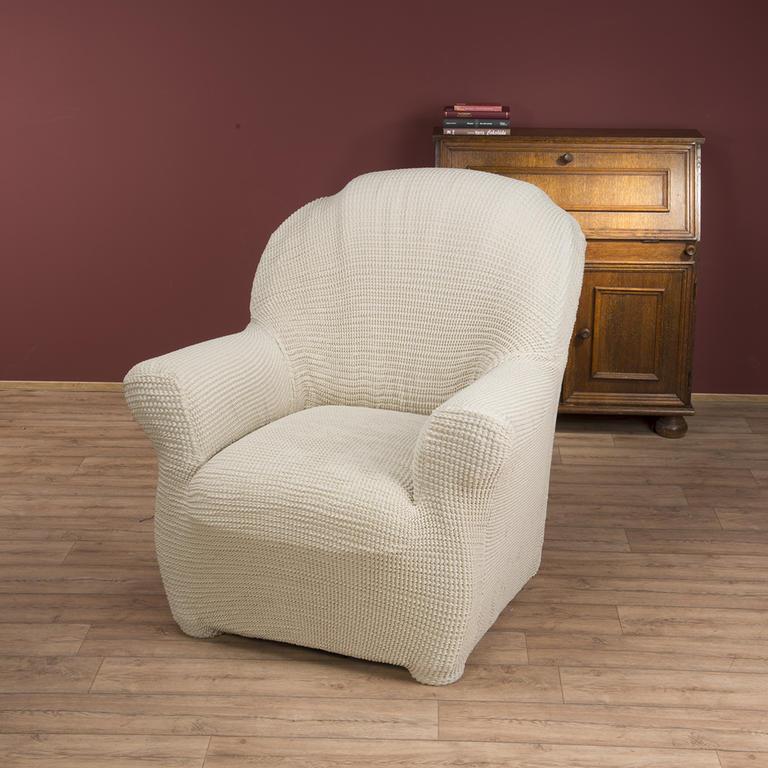 Bielastické potahy CAFFÉ béžové rohová sedačka (š. 350 - 530 cm) - 2