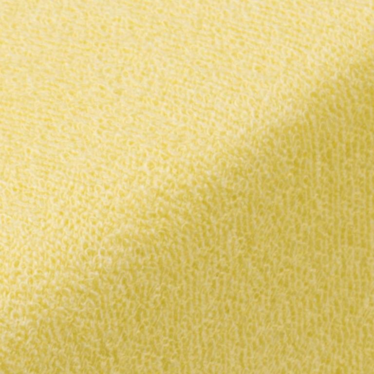 Napínací prostěradlo froté EXCLUSIVE světle žlutá jednolůžko - 2