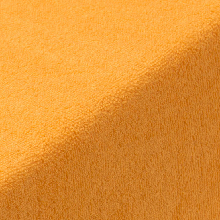 Napínací prostěradlo froté EXCLUSIVE oranžová jednolůžko 2 ks - 2