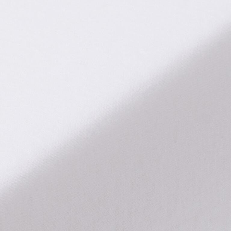 Napínací prostěradlo jersey EXCLUSIVE bílé  - 2