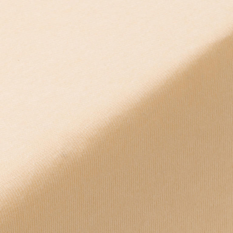 Napínací prostěradlo jersey EXCLUSIVE béžová jednolůžko - 2
