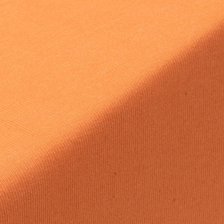 Napínací prostěradlo jersey EXCLUSIVE oranžová jednolůžko 2 ks - 2