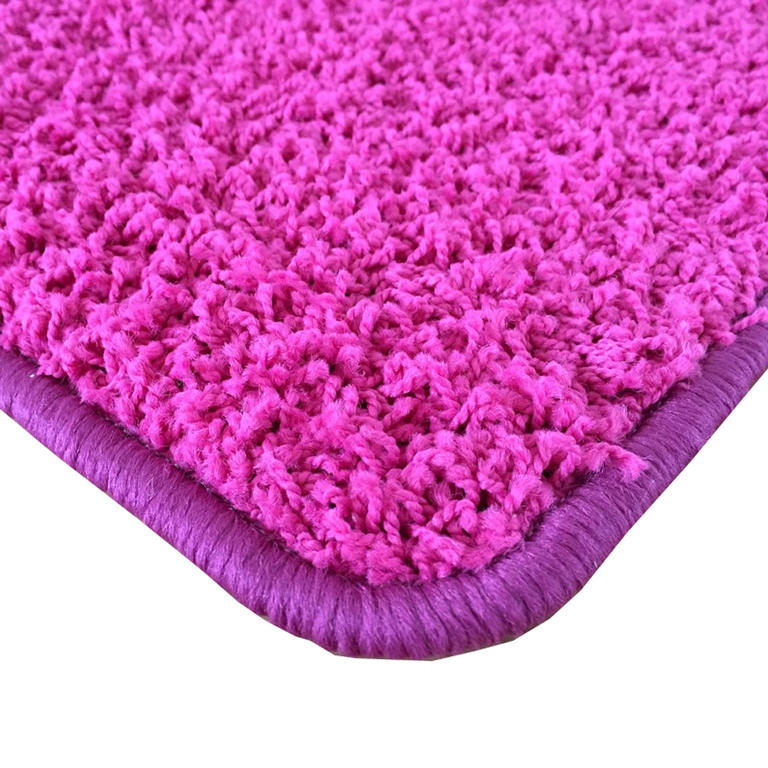 Koberec SHAGGY růžový 60 x 110 cm - 2