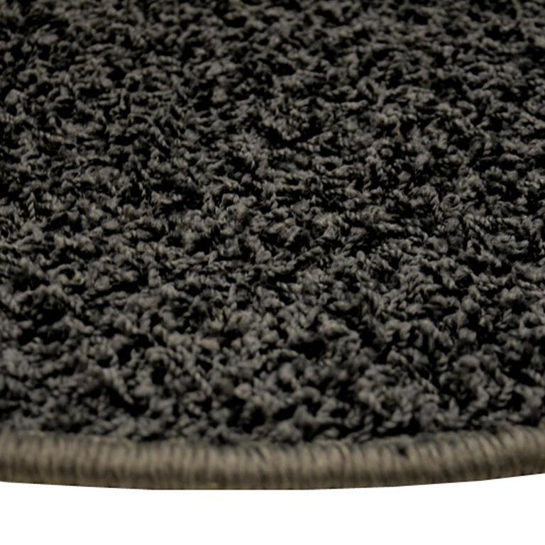 Kulatý koberec SHAGGY antracit  - 2