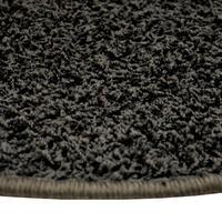Kulatý koberec SHAGGY antracit - 2/2