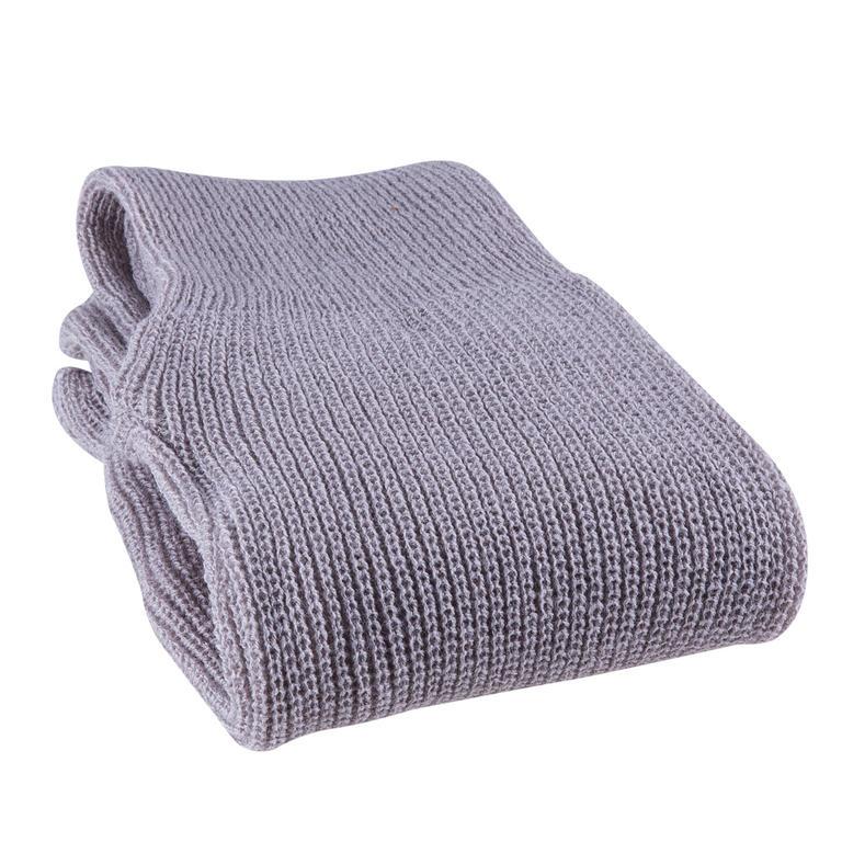 Dámské pletené legíny šedé - decoDoma cae461f152