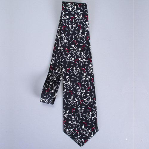 Originální kravata Sexy kostřičky - decoDoma 9f31cc61aa
