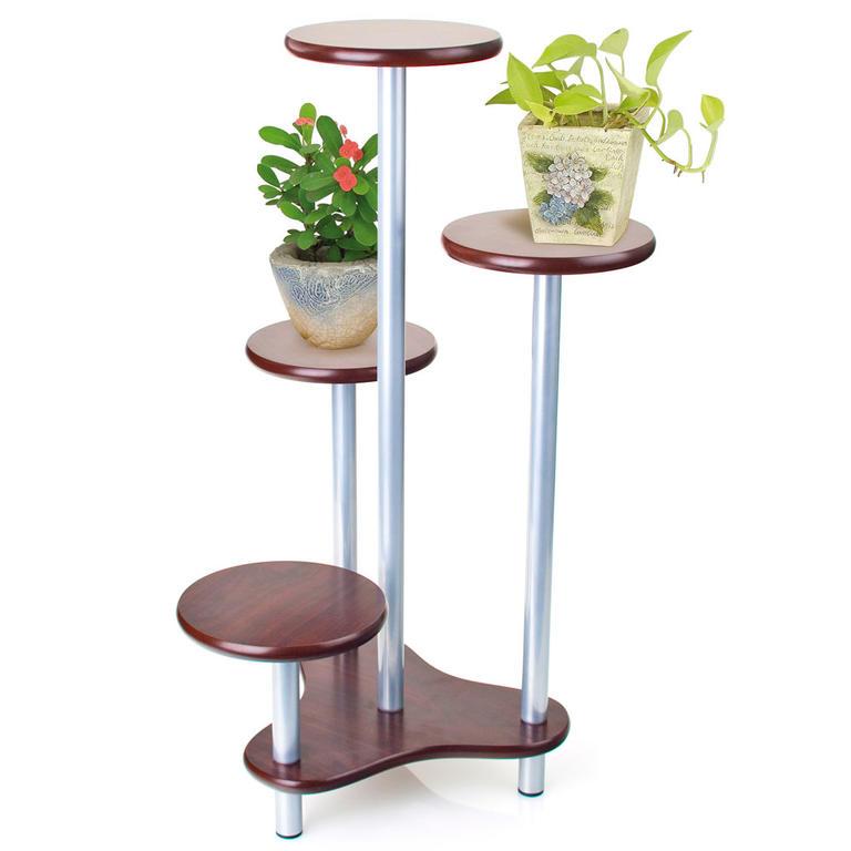 Květinový stolek světlý - 3