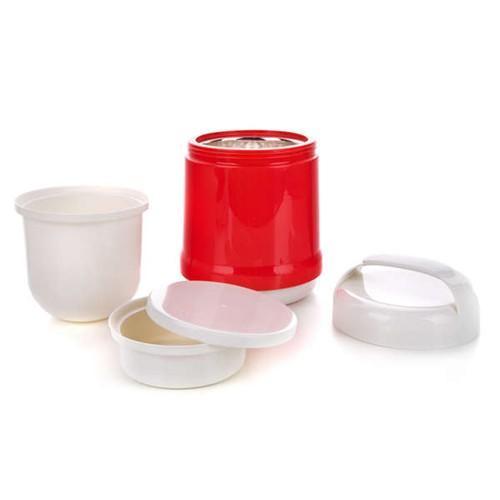 Plastová termoska na potraviny Red Culinaria, BANQUET 1 l - 3